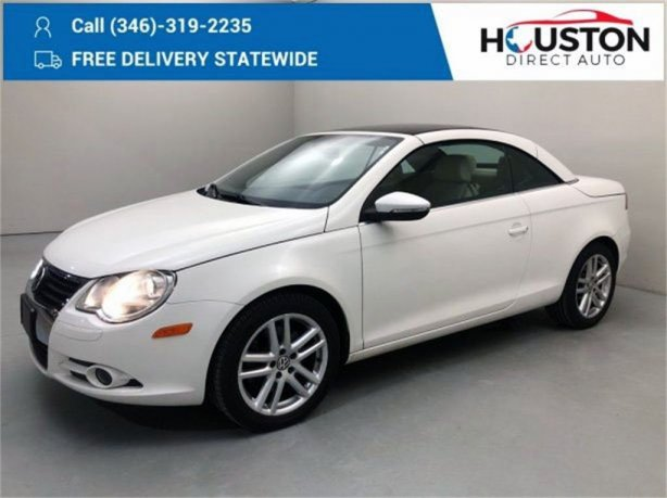 Used 2009 Volkswagen Eos for sale in Houston TX.  We Finance!