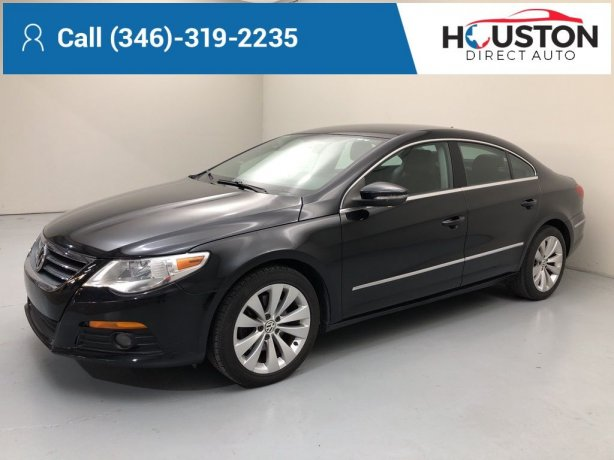 Used 2010 Volkswagen CC for sale in Houston TX.  We Finance!
