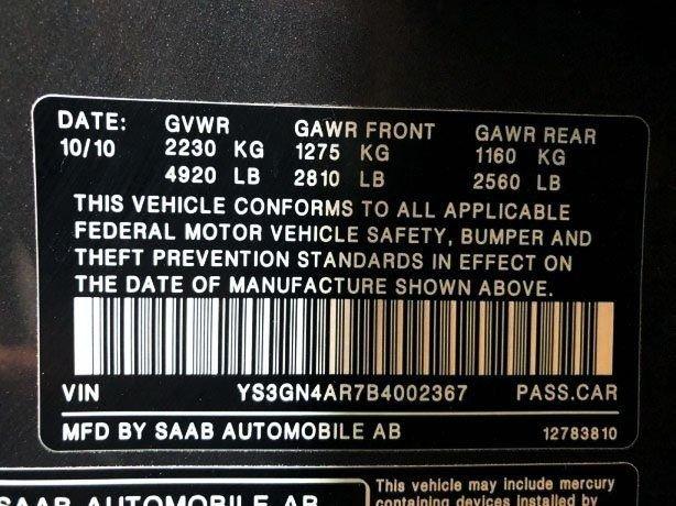 Saab 9-5 cheap for sale