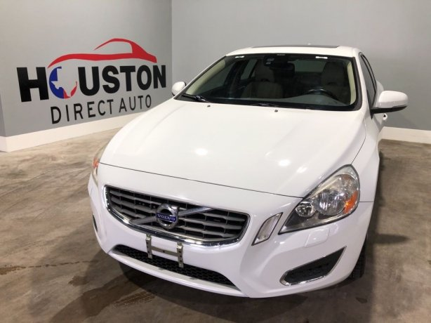 Used 2013 Volvo S60 for sale in Houston TX.  We Finance!