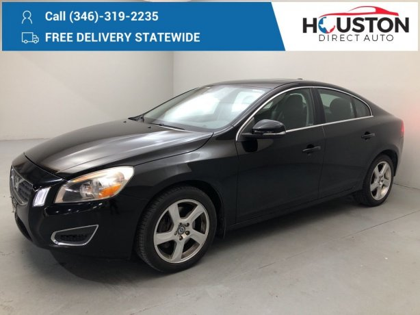 Used 2012 Volvo S60 for sale in Houston TX.  We Finance!