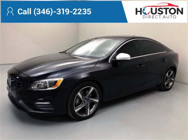Used 2015 Volvo S60 for sale in Houston TX.  We Finance!