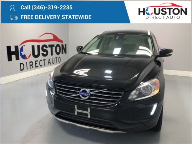 Used 2016 Volvo XC60 for sale in Houston TX.  We Finance!
