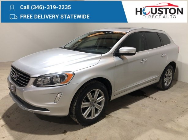 Used 2017 Volvo XC60 for sale in Houston TX.  We Finance!