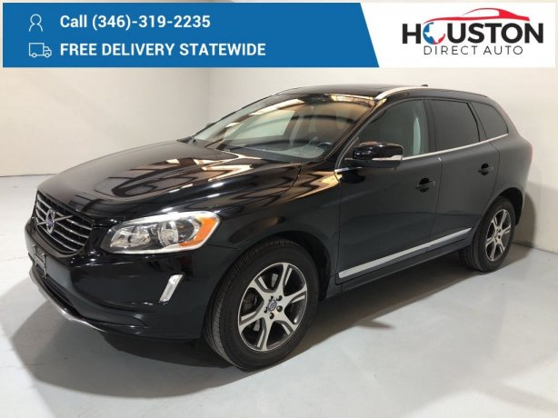 Used 2015 Volvo XC60 for sale in Houston TX.  We Finance!