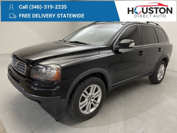 Used 2010 Volvo XC90 for sale in Houston TX.  We Finance!