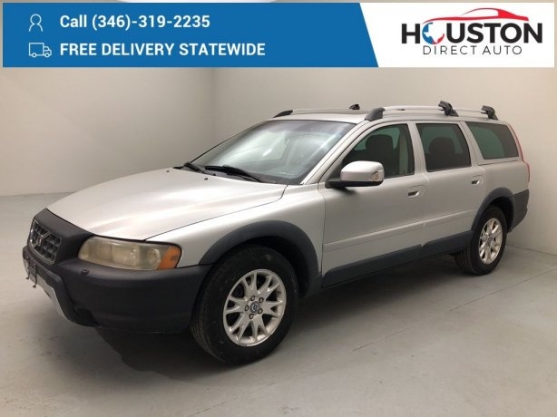 Used 2007 Volvo XC70 for sale in Houston TX.  We Finance!