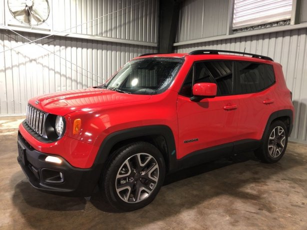 Used Jeep Renegade for sale in Houston TX.  We Finance!