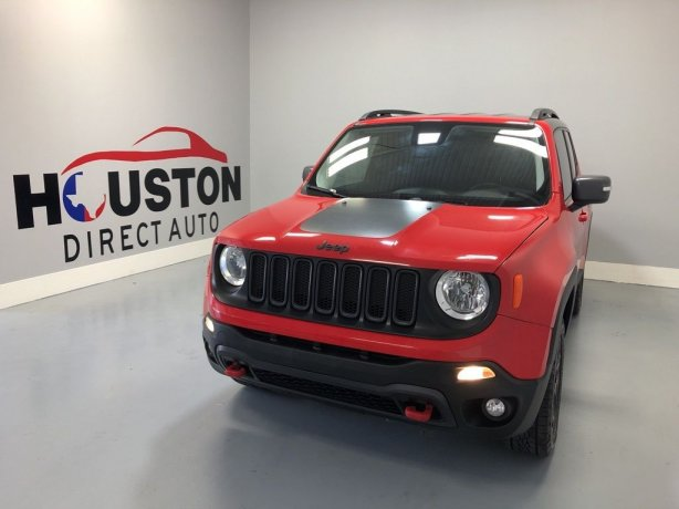 Used 2016 Jeep Renegade for sale in Houston TX.  We Finance!