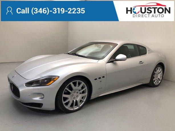 Used 2010 Maserati GranTurismo for sale in Houston TX.  We Finance!