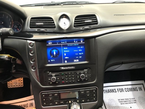 used Maserati GranTurismo for sale Houston TX