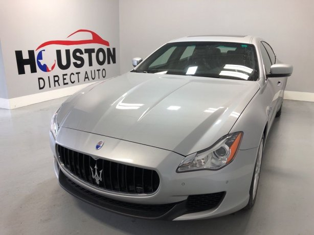 Used 2014 Maserati Quattroporte for sale in Houston TX.  We Finance!