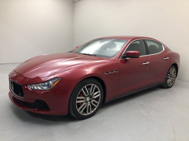 Used 2015 Maserati Ghibli for sale in Houston TX.  We Finance!