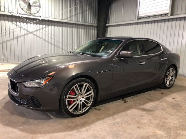 Used Maserati Ghibli for sale in Houston TX.  We Finance!