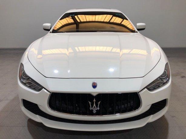 Used Maserati Ghibli for sale in Houston TX.  We Finance!