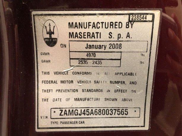Maserati GranTurismo near me for sale