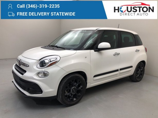 Used 2018 Fiat 500L for sale in Houston TX.  We Finance!