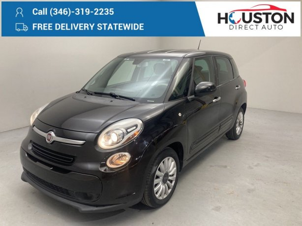 Used 2014 Fiat 500L for sale in Houston TX.  We Finance!