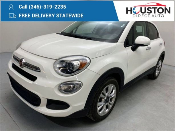 Used 2016 Fiat 500X for sale in Houston TX.  We Finance!