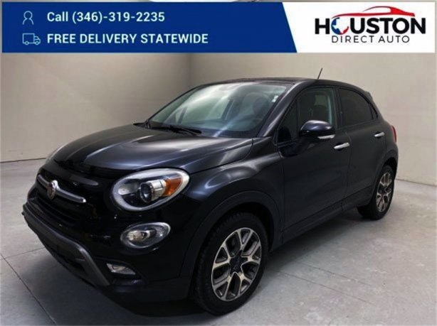 Used 2017 Fiat 500X for sale in Houston TX.  We Finance!